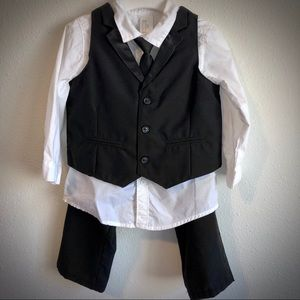 H&M baby boy dress outfit